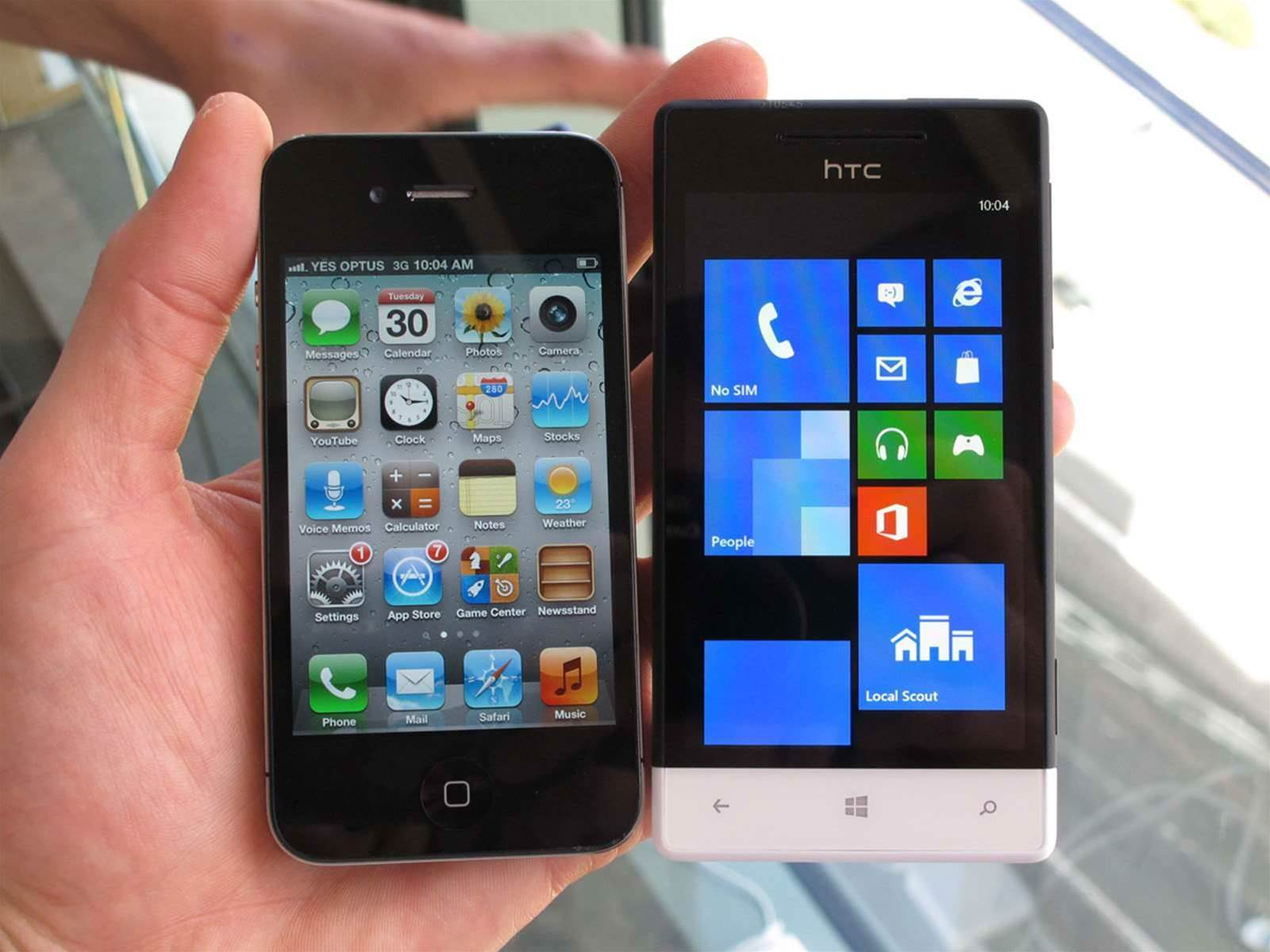 Photos: Nokia Lumia 920, 820, HTC 8X, 8S, Samsung