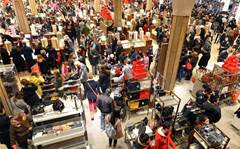 In pictures: Black Friday midnight madness