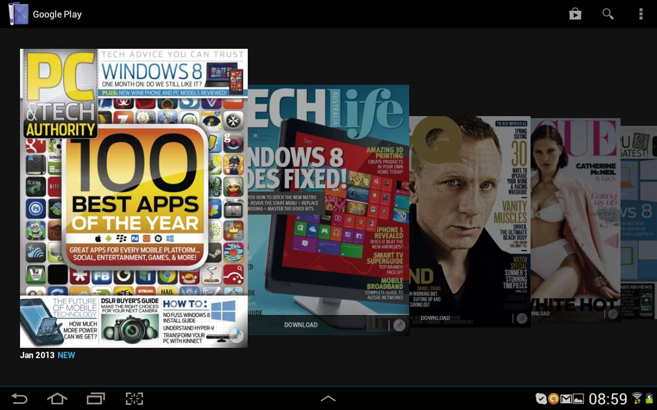 Top 25 apps for Android tablets