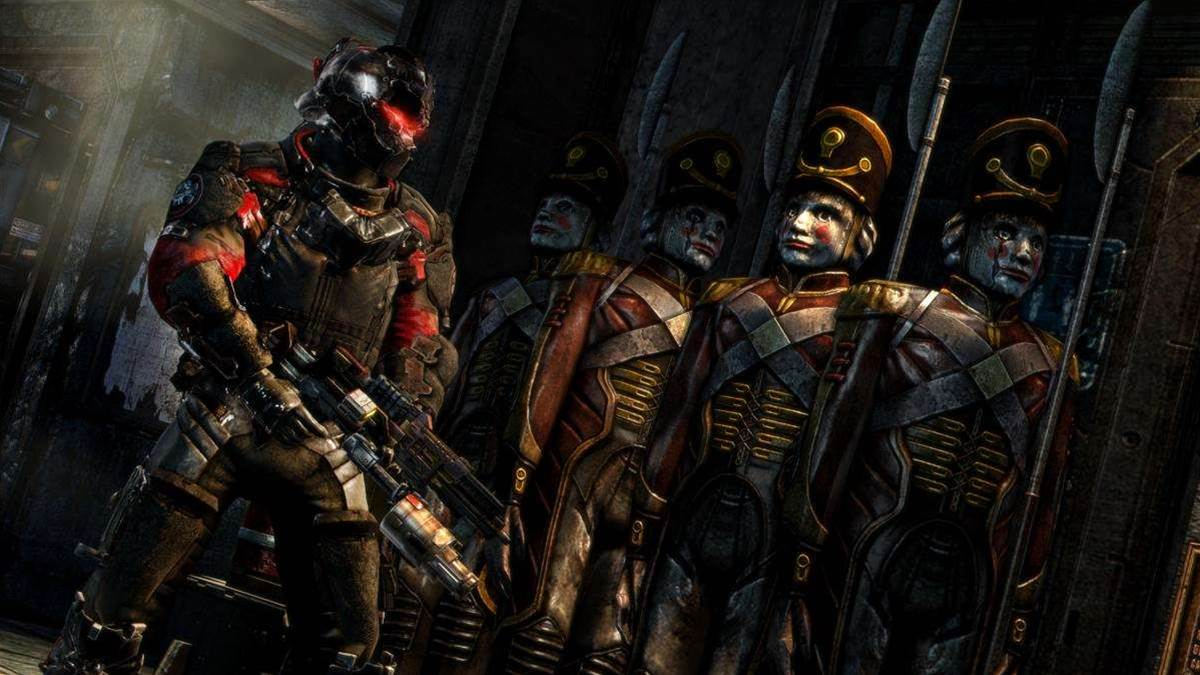 Dead Space 3 interview screens