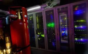 Photos: Sweden's hydrogen bomb-proof data centre