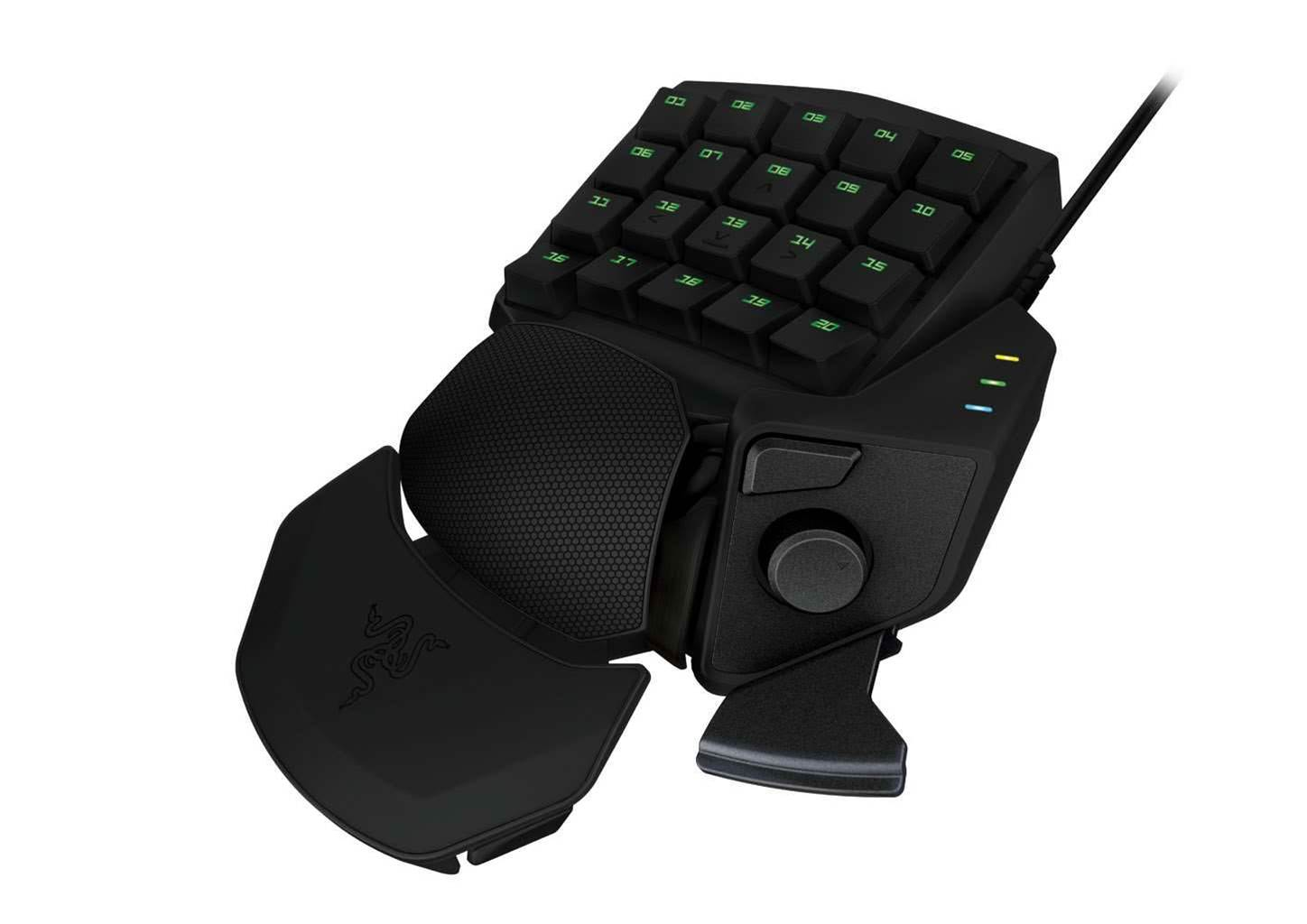 Razer's Edge tablet, and Orbweaver & Sabertooth controllers
