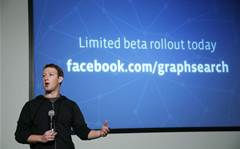 In pictures: Facebook launches search function