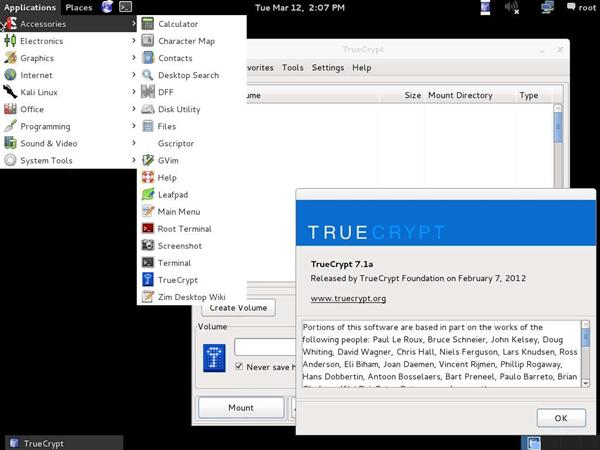 Kali linux screen shots security itnews