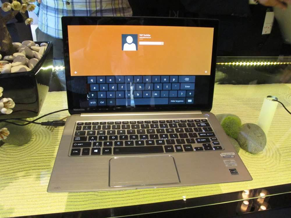 "Premium laptops aren't cheap, but we often recommend them to people wanting better build-quality. The latest example in the premium market is this Toshiba model the Kira. (We could have sworn Toshiba was using the name ""Kira Book"" in the presentation we saw today, but the marketing material and press release we received just call it the Kira). Unveiled today at a media event in Sydney, the Kira starts at $1,799 and is on sale now. So what do you get for that sort of money? Click for the next photo."