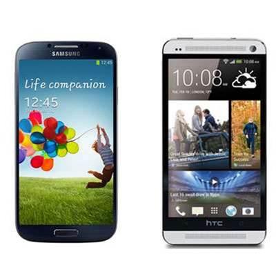 Photos: HTC One vs Samsung Galaxy S4