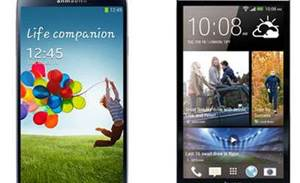 Photos: HTC One vs Samsung Galaxy S4
