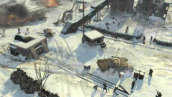 Company of Heroes 2 campaign screenshots