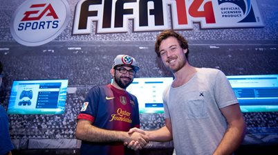 FIFA 14 event in Hong Kong