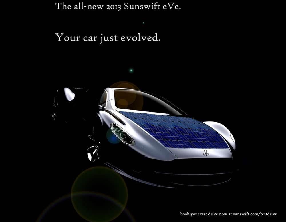 Photos: UNSW's eVe solar racing car