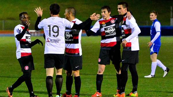 Wanderers in Canberra pics