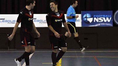 F-League action