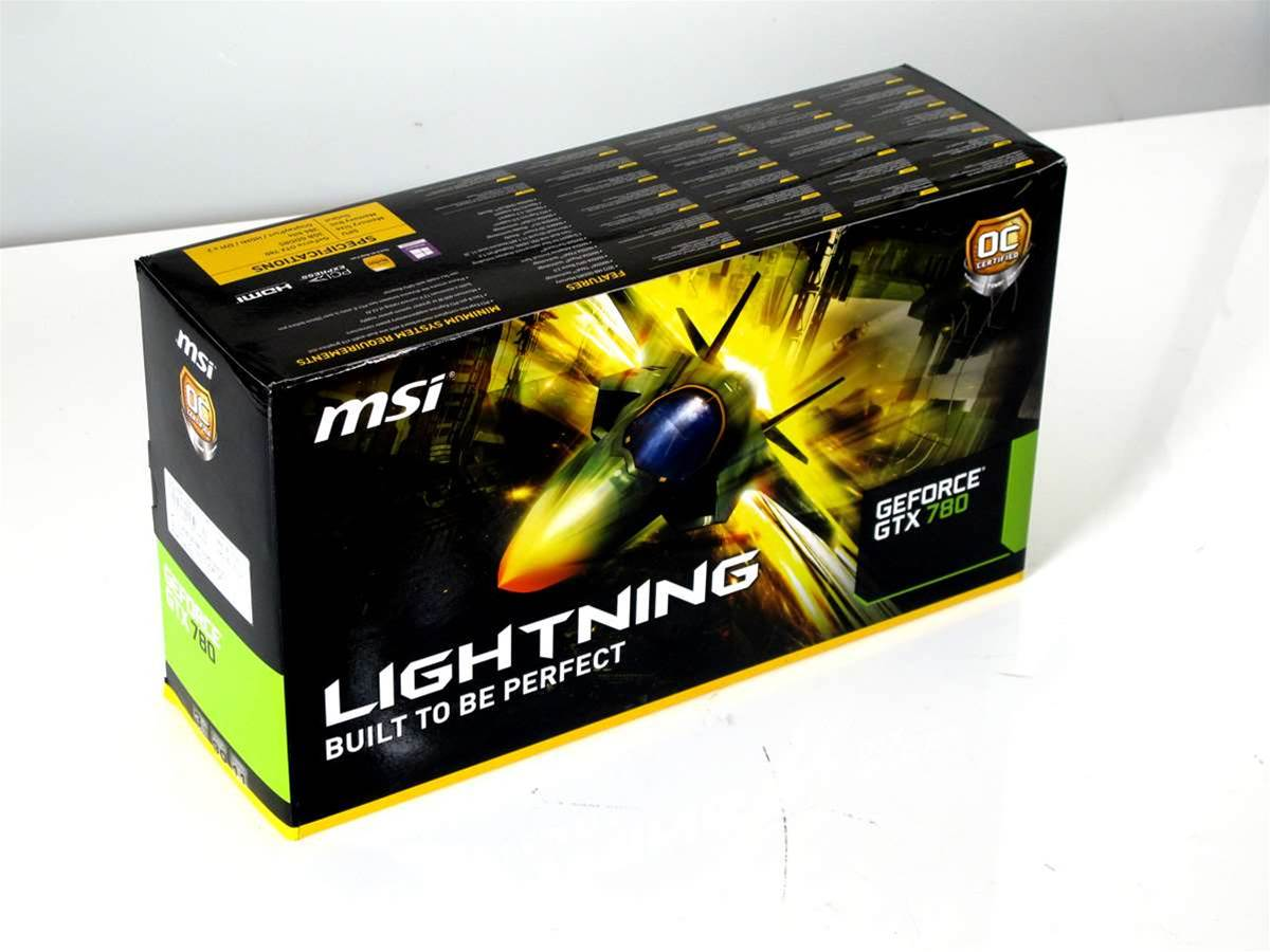 Unboxed: MSI GeForce GTX 780 Lightning
