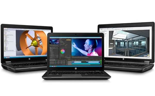 HP's new ZBook 14, EliteBook 800 and T820 thin client