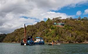 Photos: Vocus lays more submarine cable in Sydney harbour