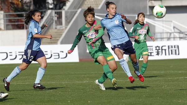 Sydney FC v NTV Beleza pics