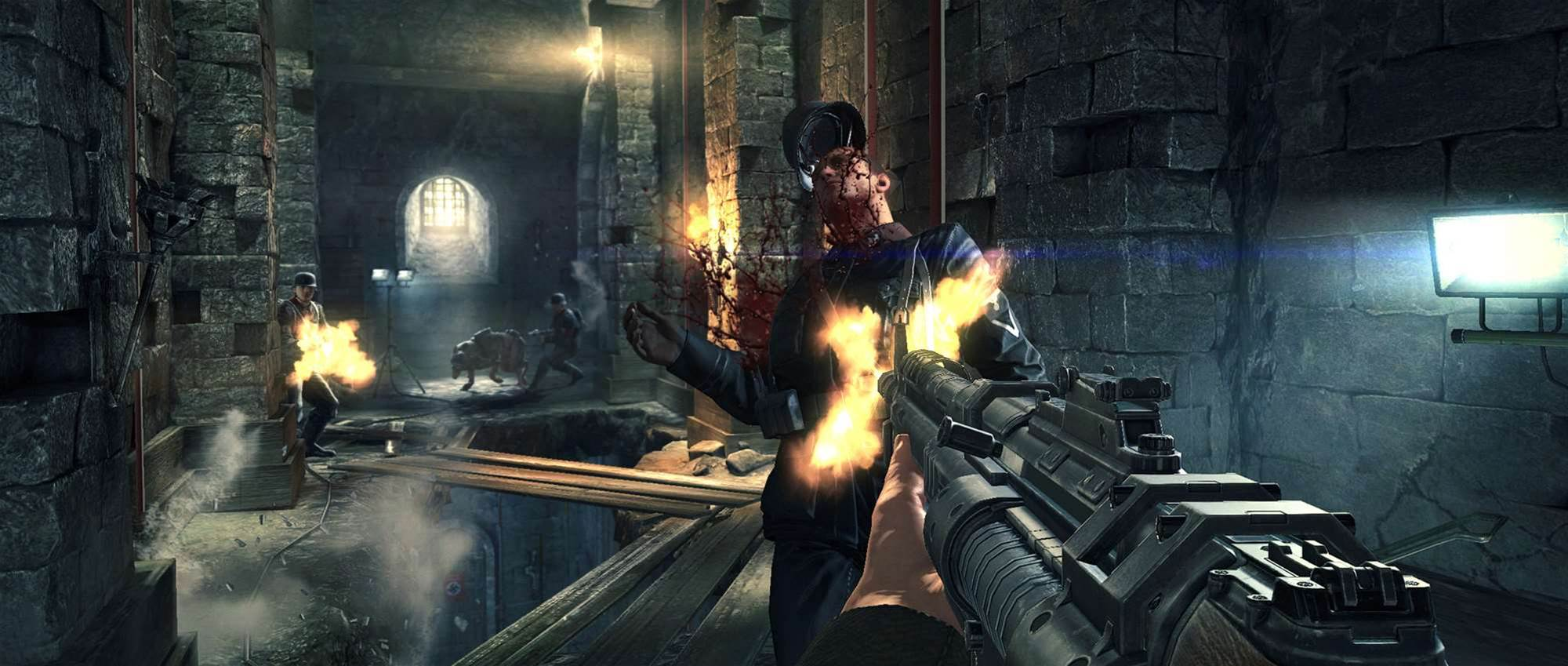 Four new screens from Wolfenstein: The New Order