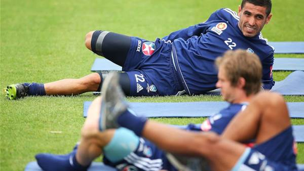 Sydney FC training pics
