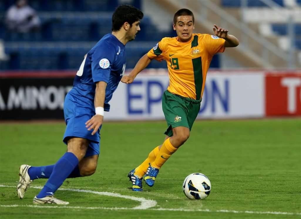 Olyroos v Kuwait match action
