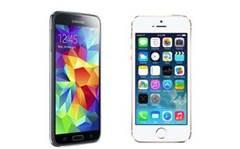 Head-to-head: Samsung Galaxy S5 vs. Apple iPhone 5S