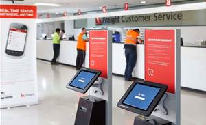 Photo tour: Qantas Freight's self-service system