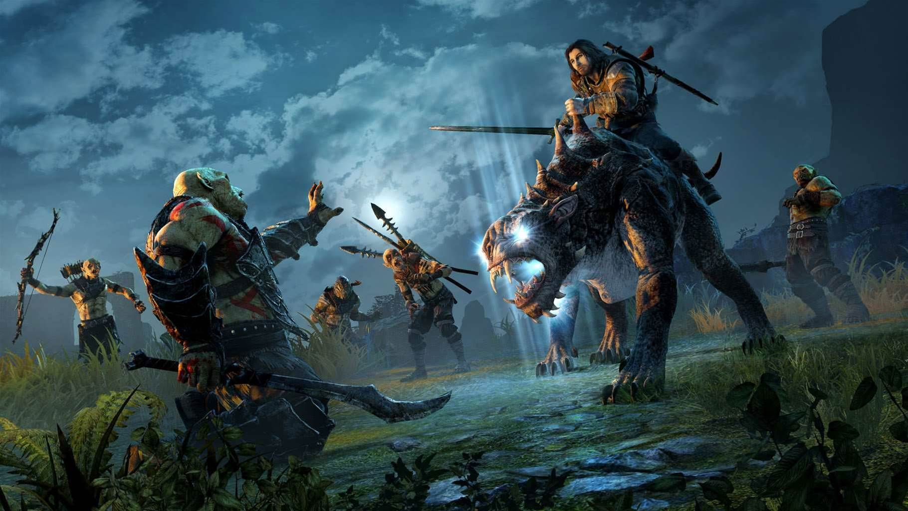 Four new screens from Shadows of Mordor