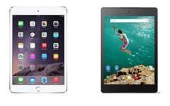 Apple iPad Air 2 vs Google Nexus 9