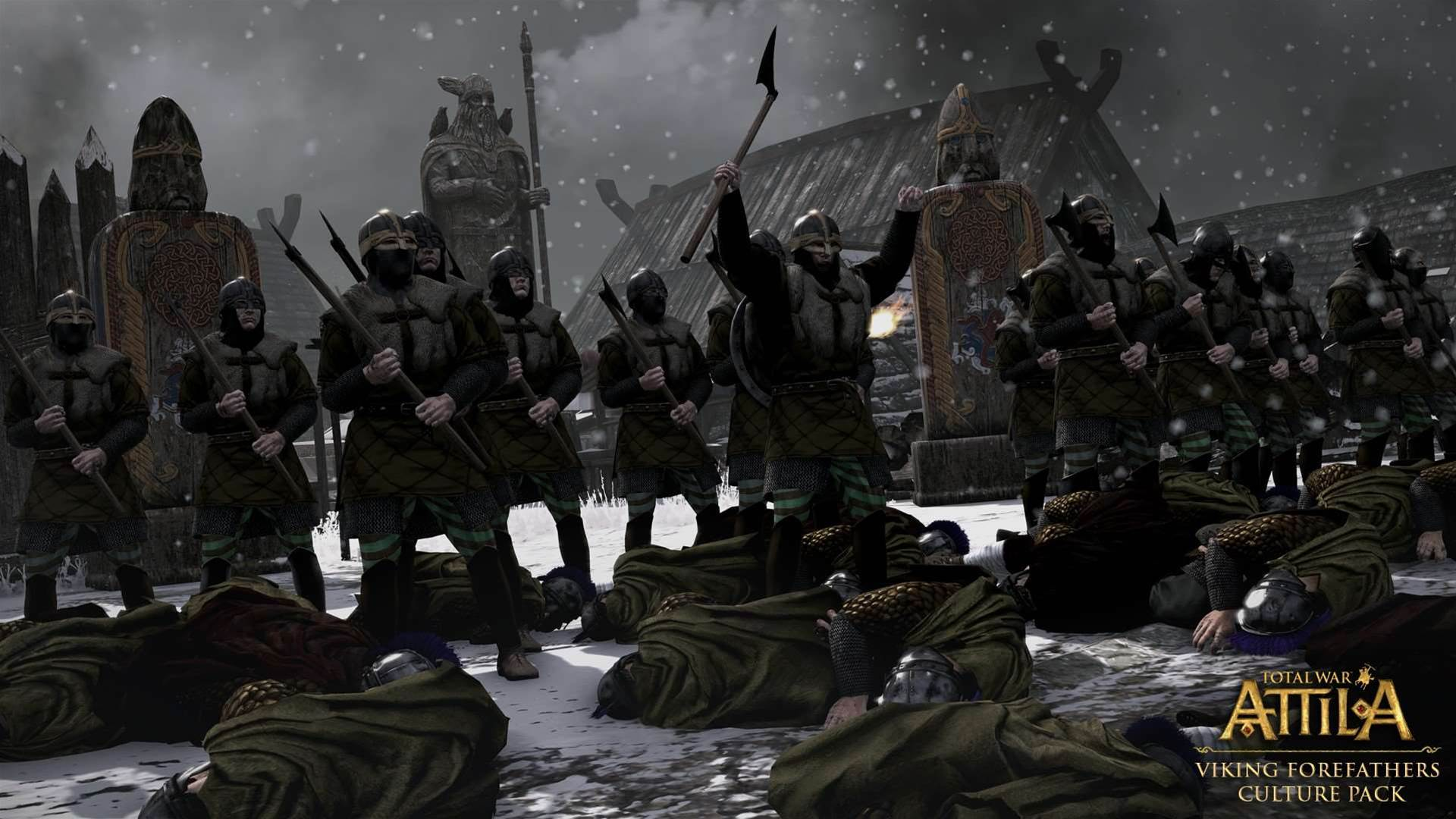Get an early look at the Viking Forefathers Culture pack for Total War: Attila