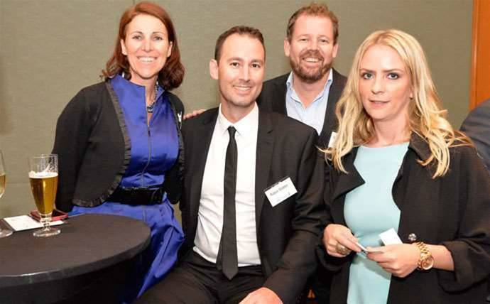 Who was at the CRN Fast50 networking drinks?