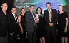Oracle's 2014 ANZ awards in Queenstown