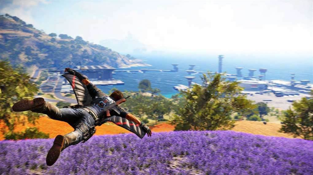 Surprise! Fab new screens from Just Cause 3