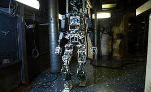Photos: Meet the US Navy's fire-fighting robot