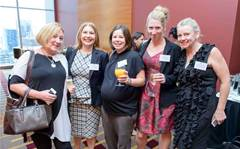 Who attended the Females in IT Women's Day lunch in Melbourne?