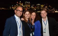 QNAP's partners party on Sydney Harbour