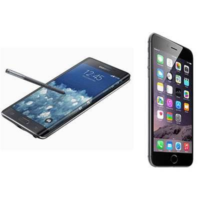 Top five global smartphone vendors in Q1