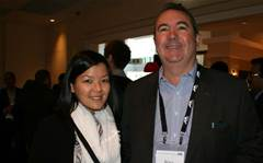 Who was at Pegasystems' first Aussie partner forum?