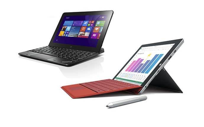 Lenovo ThinkPad Tablet 10 vs Microsoft Surface 3