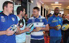 NRL stars welcome iPhone 6s buyers at Telstra store
