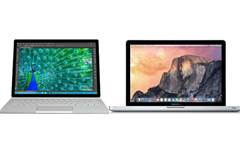 Head-to-head: Surface Book vs MacBook Pro