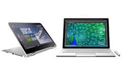 HP Spectre x360 vs Microsoft Surface Book