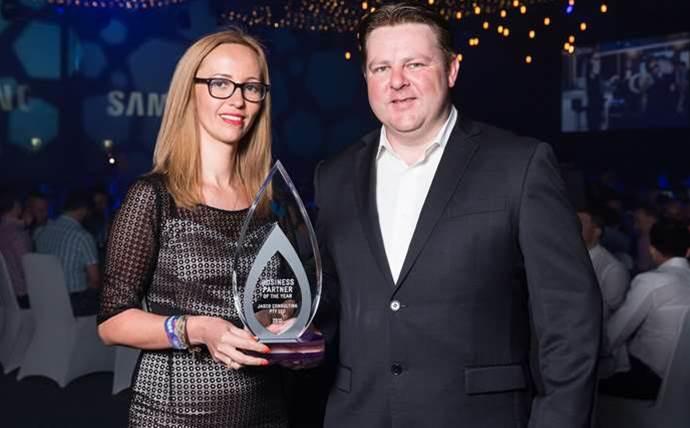 Winners celebrate Telstra partner awards for 2015