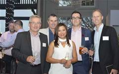 Who was at Ingram Micro's Software party?