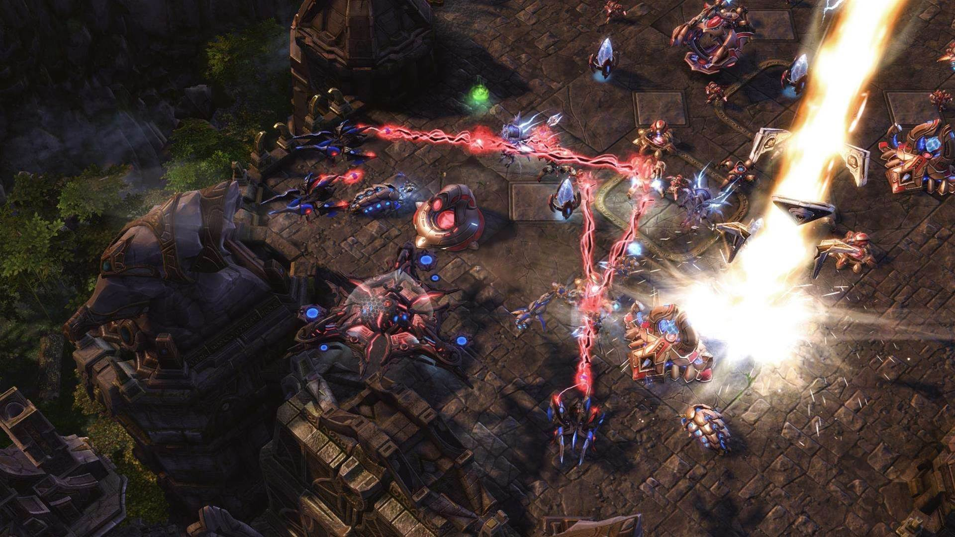 StarCraft II: Legacy of the Void launch screens