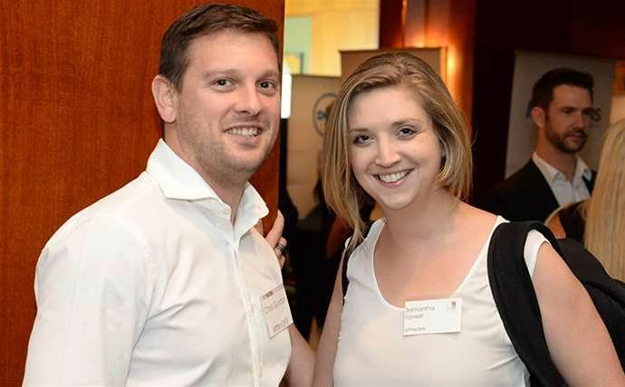 Channel's best mingle at 2015 CRN Fast50 networking drinks