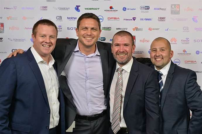 The red carpet at the 2015 CRN Fast50