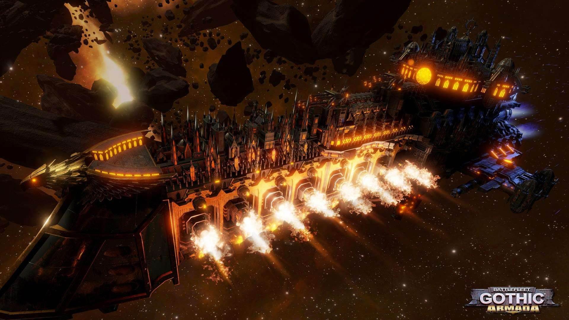 Gorgeous Battlefleet Gothic: Armada screens