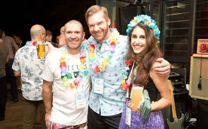 Who was at the CRN Pipeline Sydney party?