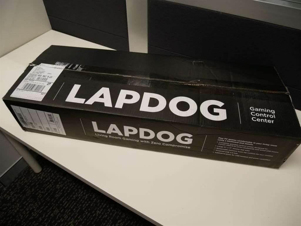 Gallery: Corsair Lapdog unboxed