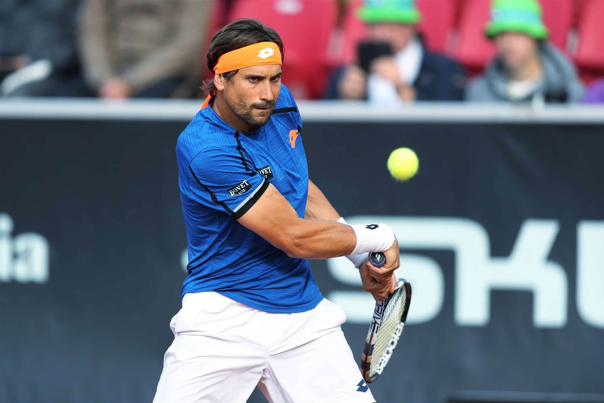 Action from the Swedish Open