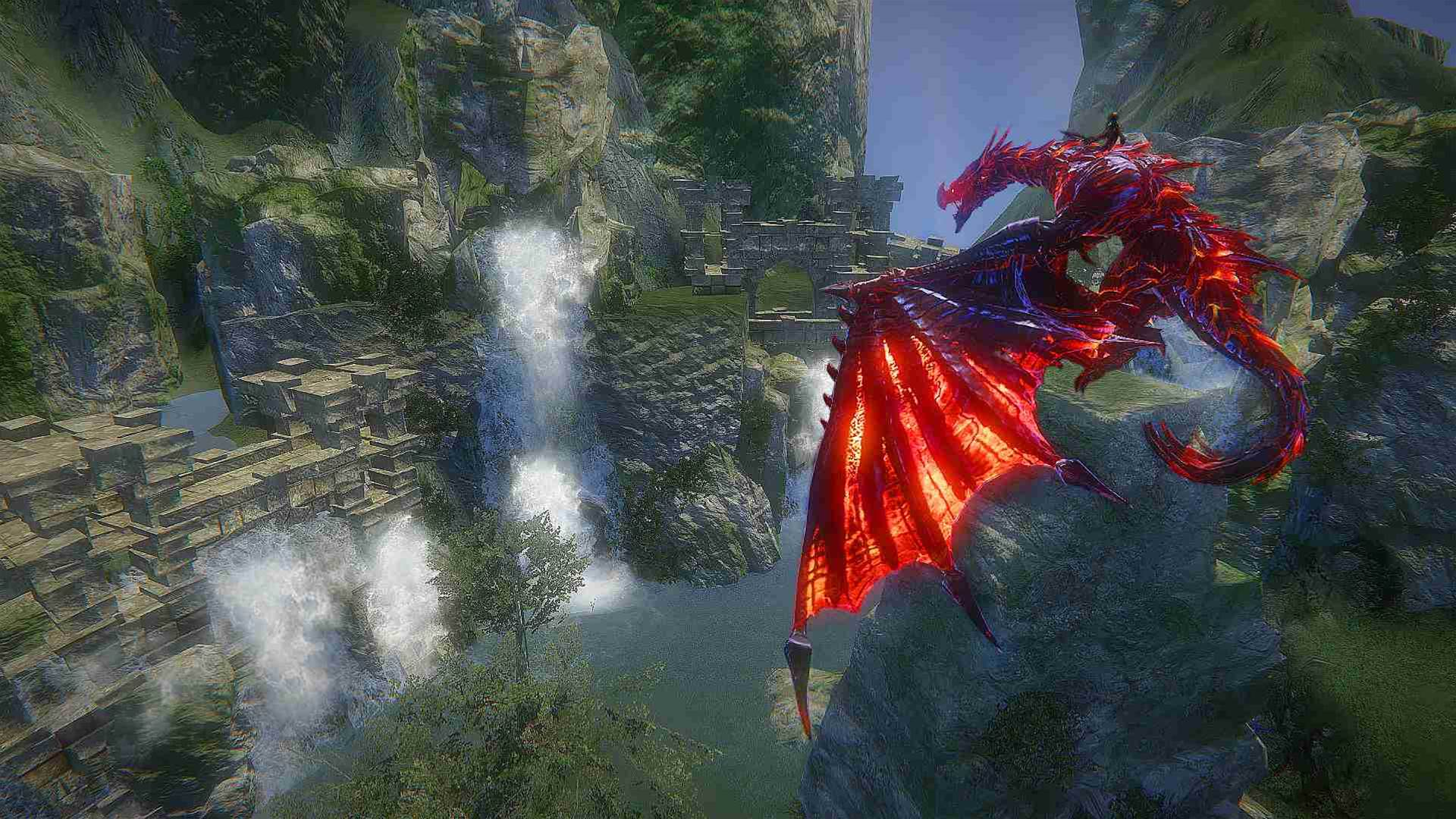 A squadron of screenshots for Riders of Icarus